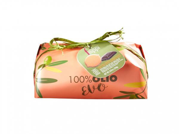 LINGOTTO 100% OLIO EVO CON ARANCIA E CIOCCOLATO FONDENTE GR 250